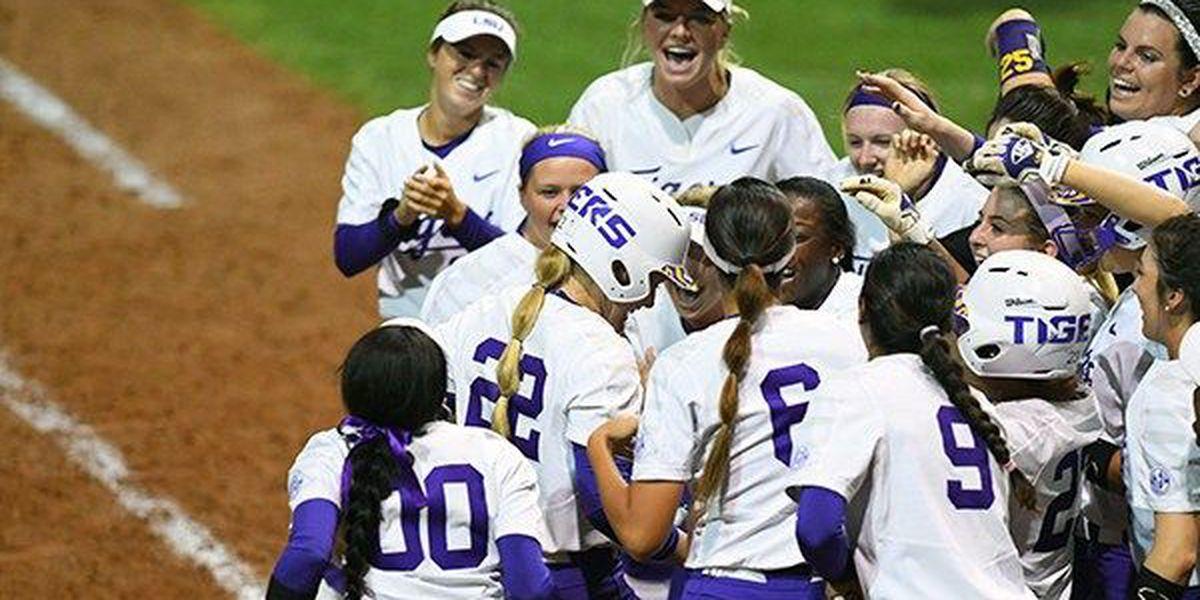 Amanda Doyle walk-off HR gives LSU softball 2-1 win over Arkansas