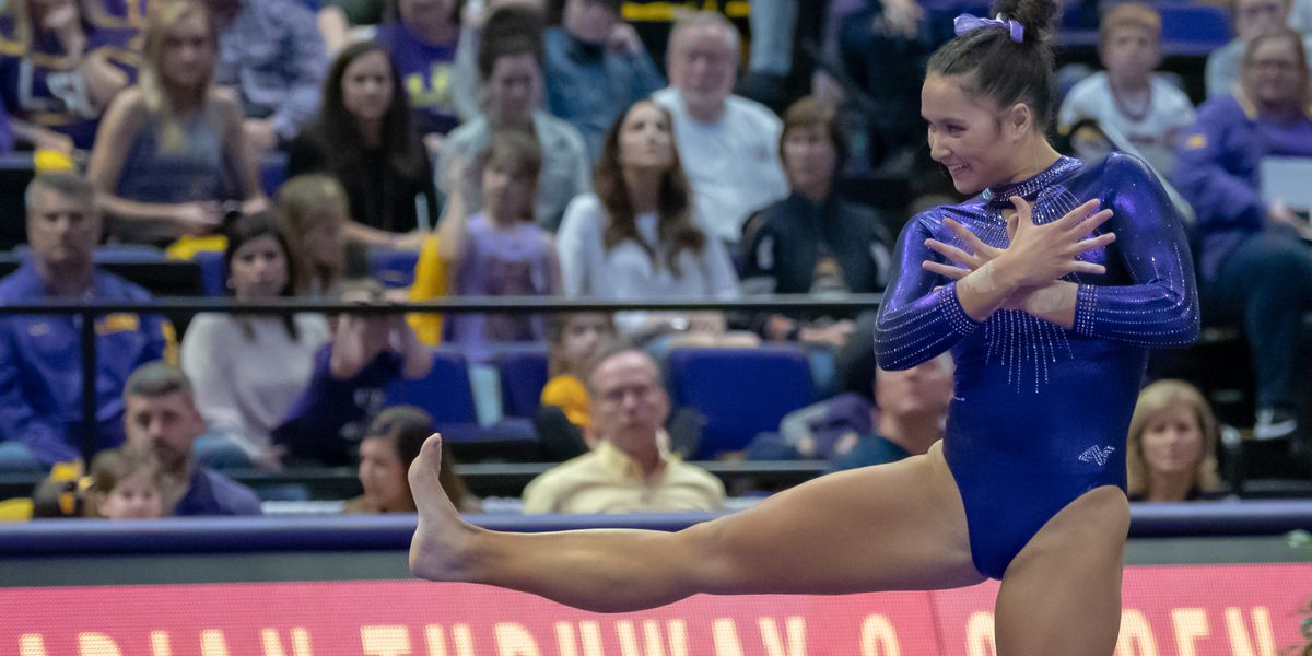 LSU's Sarah Finnegan named SEC Gymnast of the Week