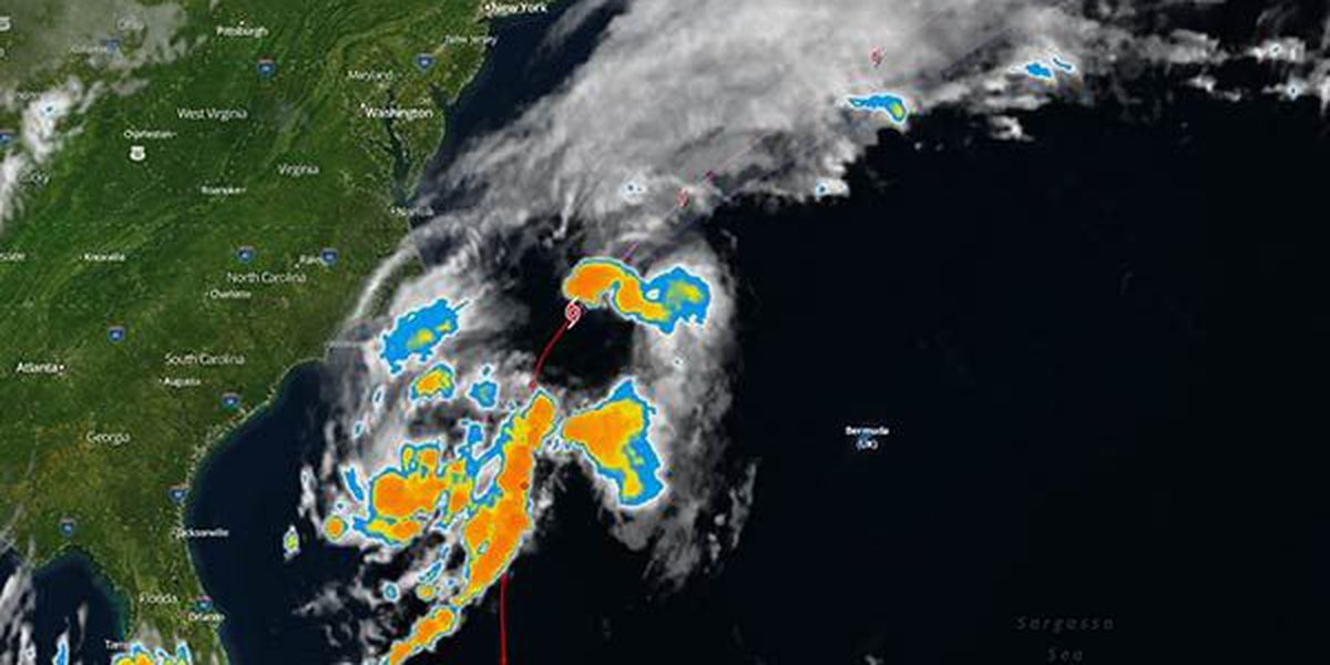Tropical Storm Bertha continues to weaken