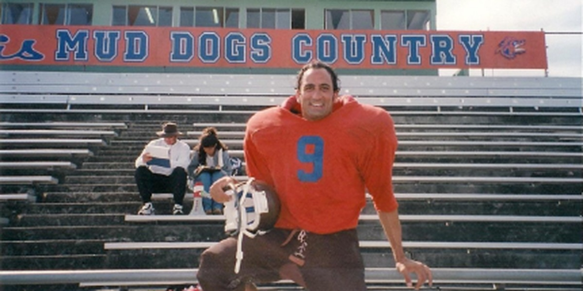 Adam Sandler's stuntman recalls filming of 'The Waterboy'