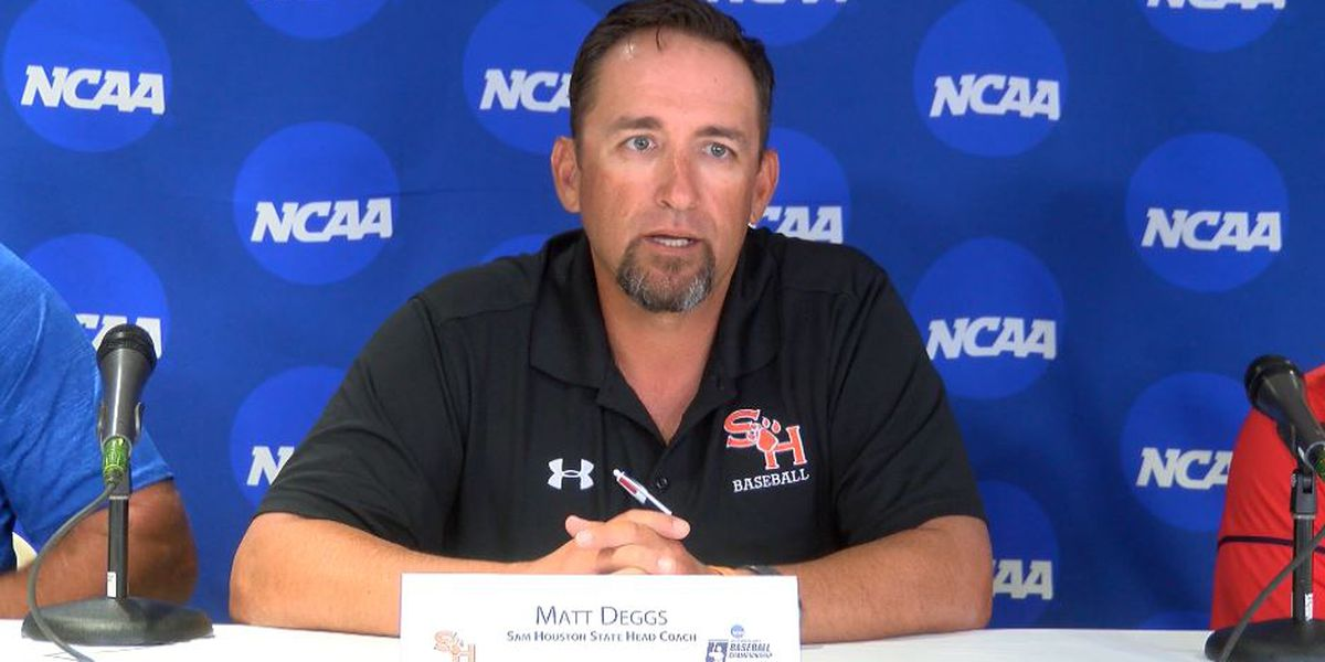 UL Lafayette hires Sam Houston State's Matt Deggs as its head baseball coach