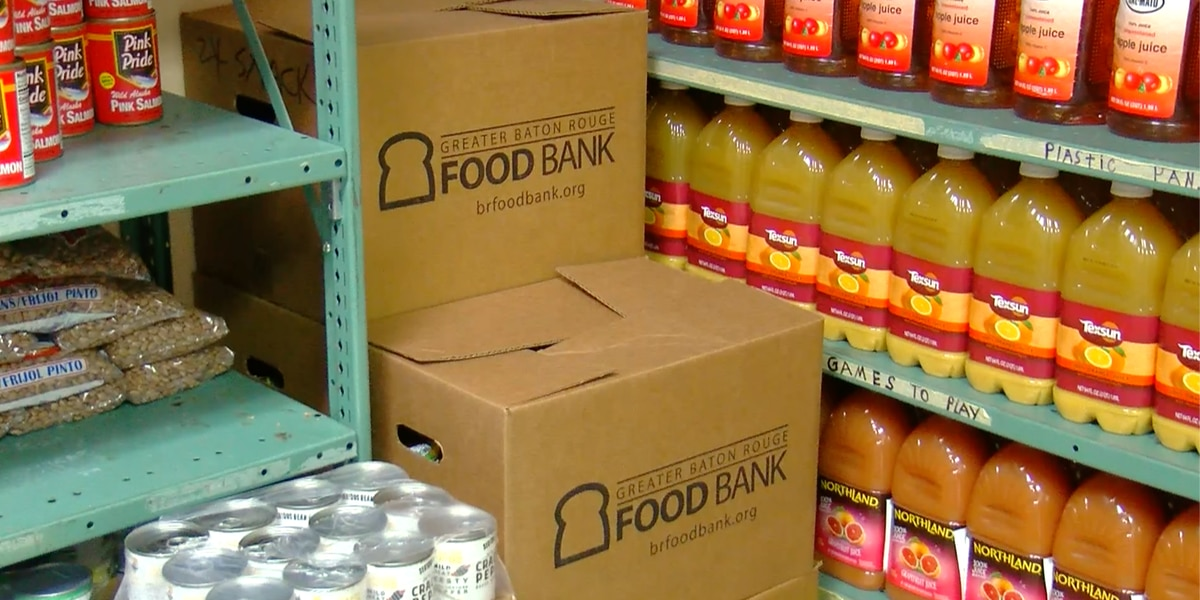 A dollar donated to the Greater Baton Rouge Food Bank stretches further than a dollar at the grocery store
