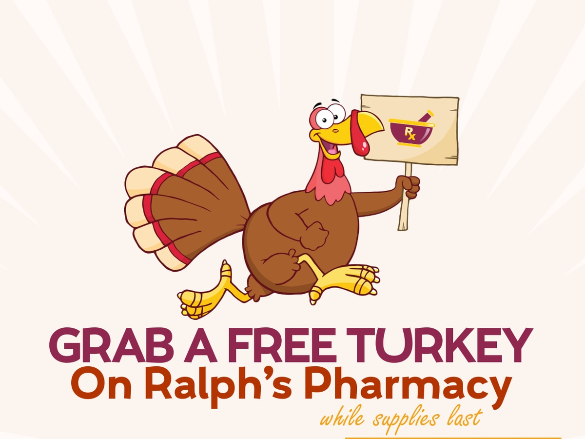 Free turkey giveaway to celebrate 'Family Medical History Awareness Day'