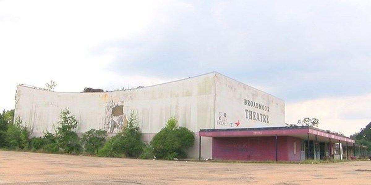 Demolition begins for old Broadmoor Theatre on Florida Blvd.