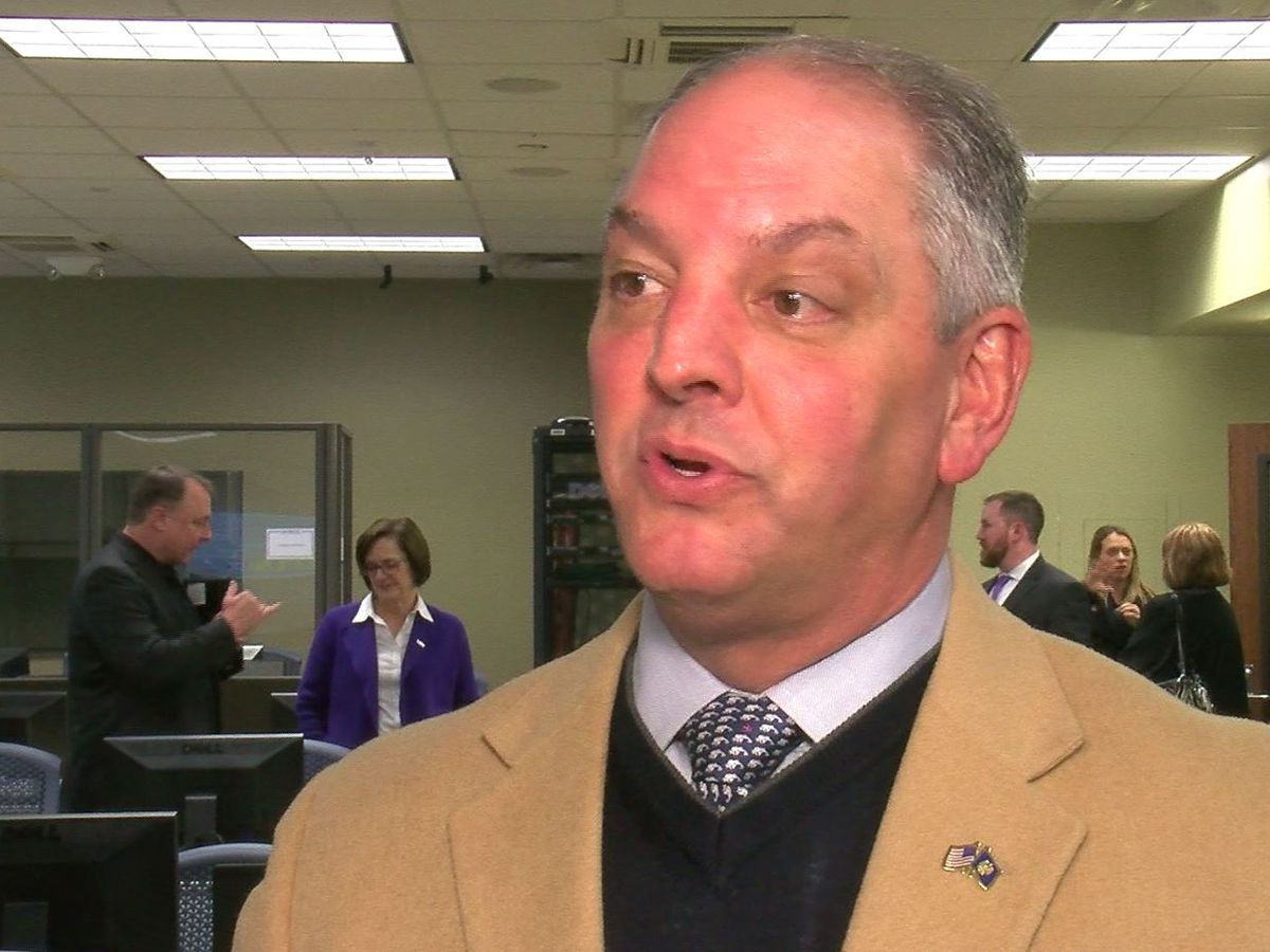Gov. Edwards plans to work with Israeli company to boost cyber security in Louisiana