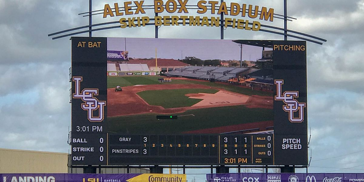 LSU baseball 2019 schedule