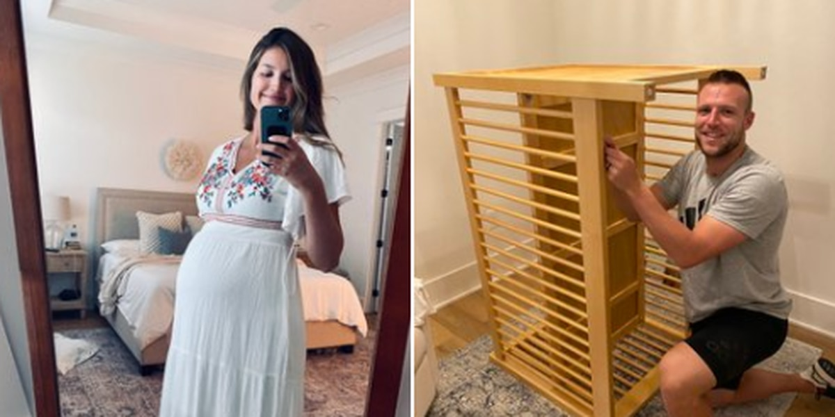 Section 642: Taysom Hill builds crib, wife shows latest pic of baby bump