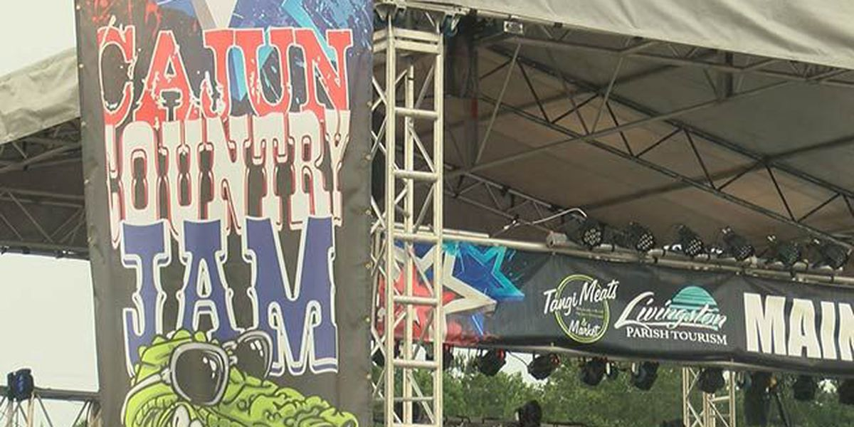 Country music festival plays host to TV icons, fireworks show