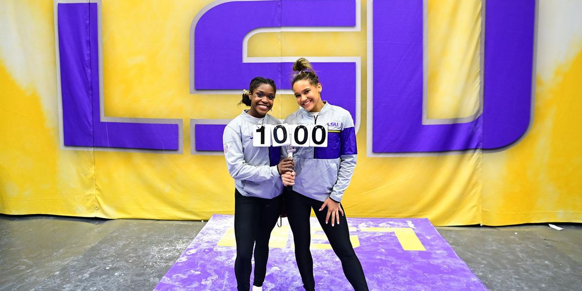 No. 3 LSU gymnastics closes regular season with win against No. 22 Missouri