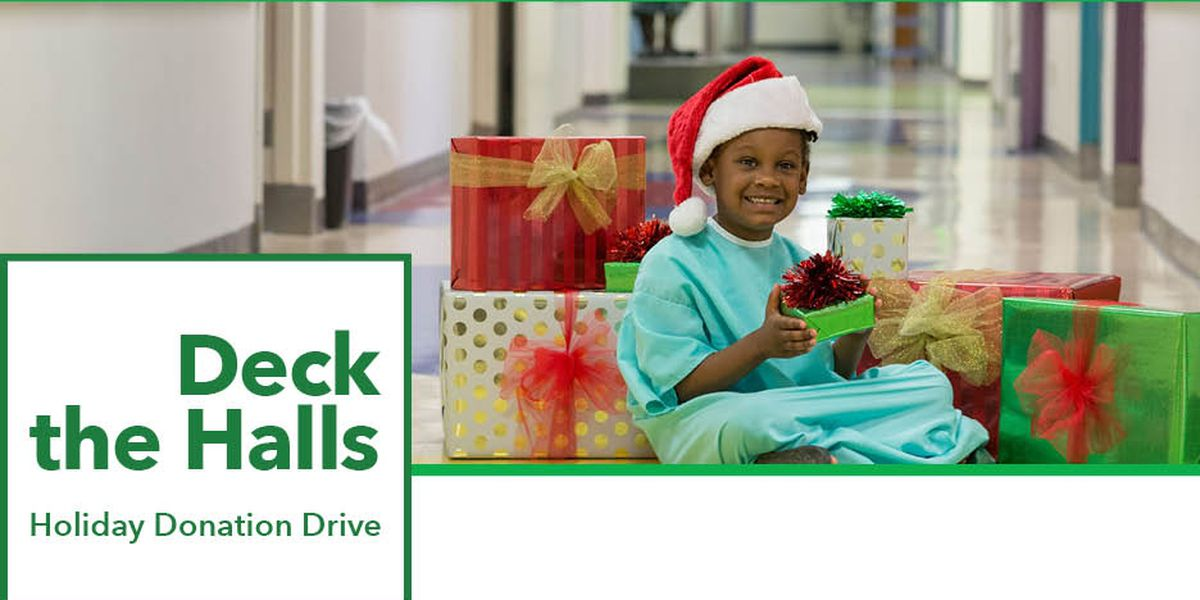 OLOL Children's Hospital to hold Deck the Halls Holiday Donation Drive