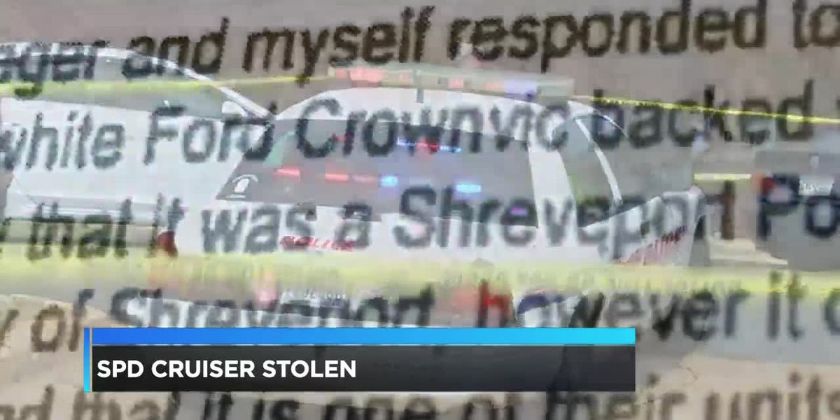 Shreveport police car gone for weeks, never reported as stolen, found in East Texas