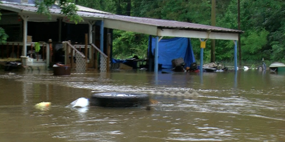 Pearl River County recovering from weekend flooding