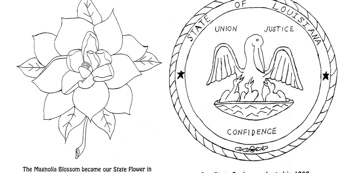 - Kids Can Learn State Symbols With These Printable Coloring Sheets