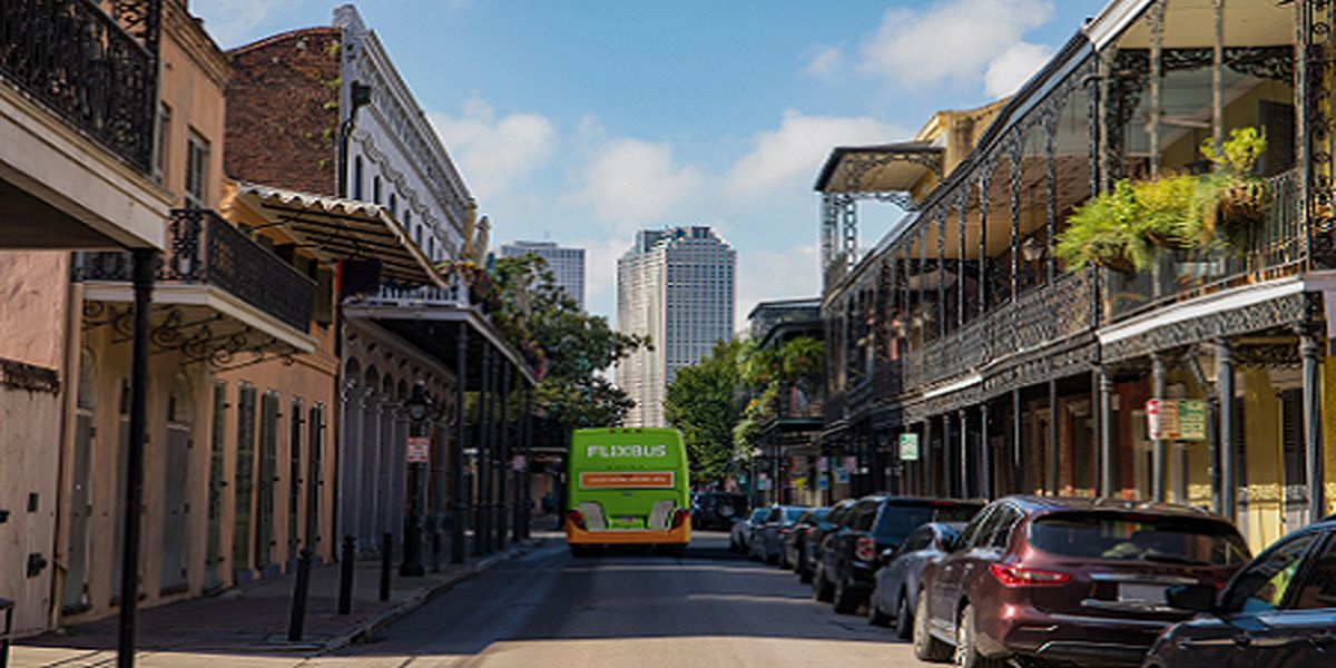 FlixBus launches southern network in Louisiana, Mississippi and Texas