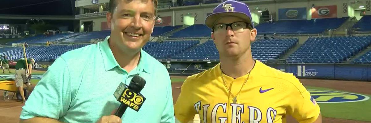 POST GAME: Chris Reid LSU Baseball