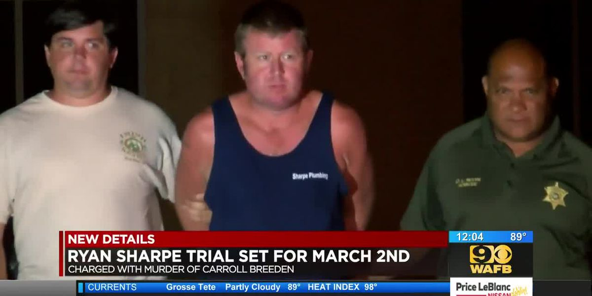 Ryan Sharpe trial set for March 2nd