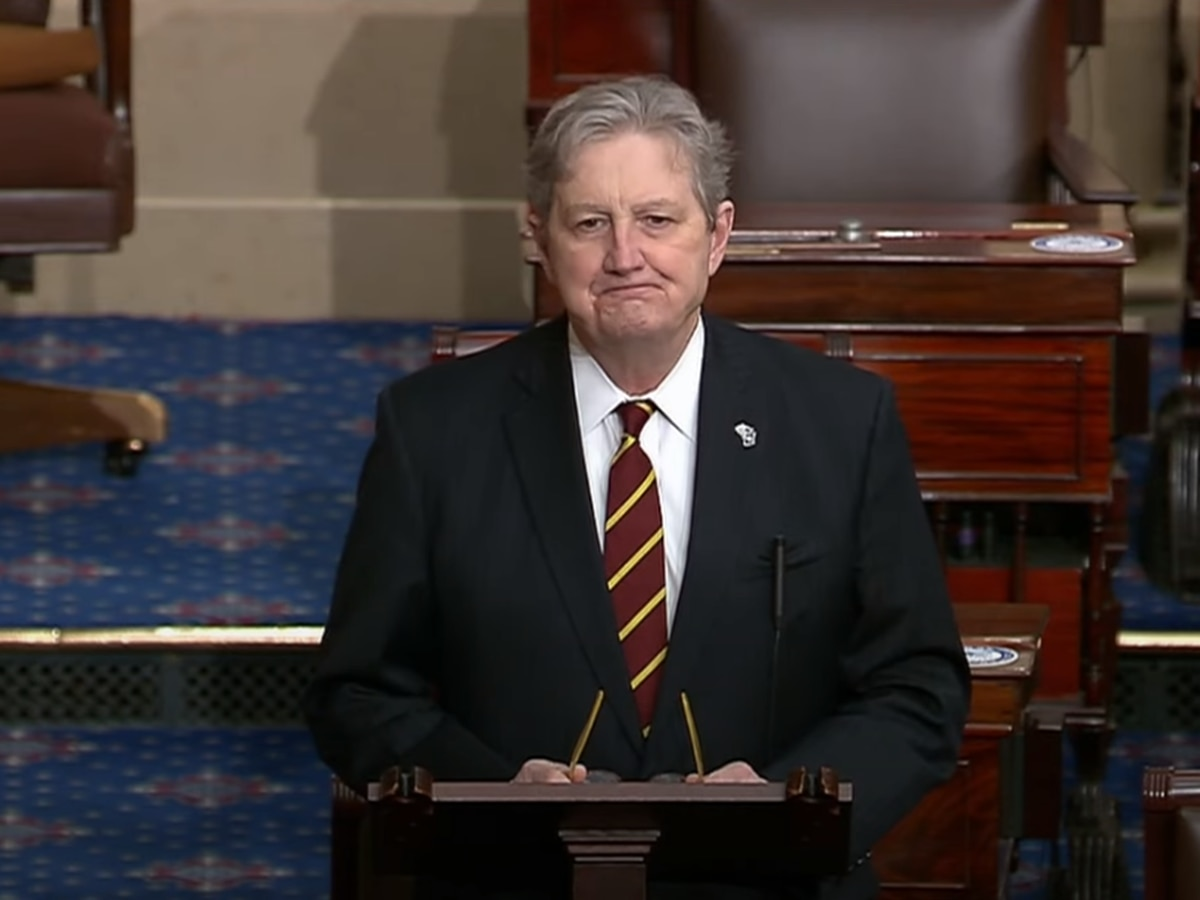 Sen. Kennedy questions NCAA cancellation of golf tournament, undervaluing of women's sports