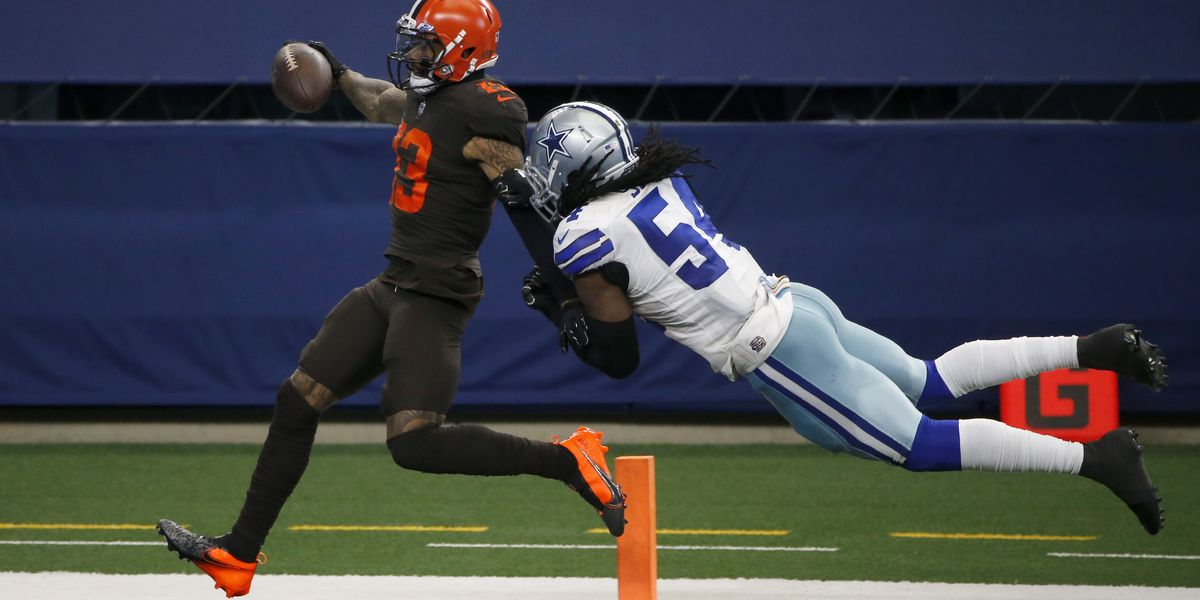 Cleveland Browns survive in Dallas, 49-38