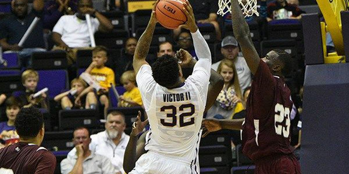 LSU's Victor dismissed from men's basketball team
