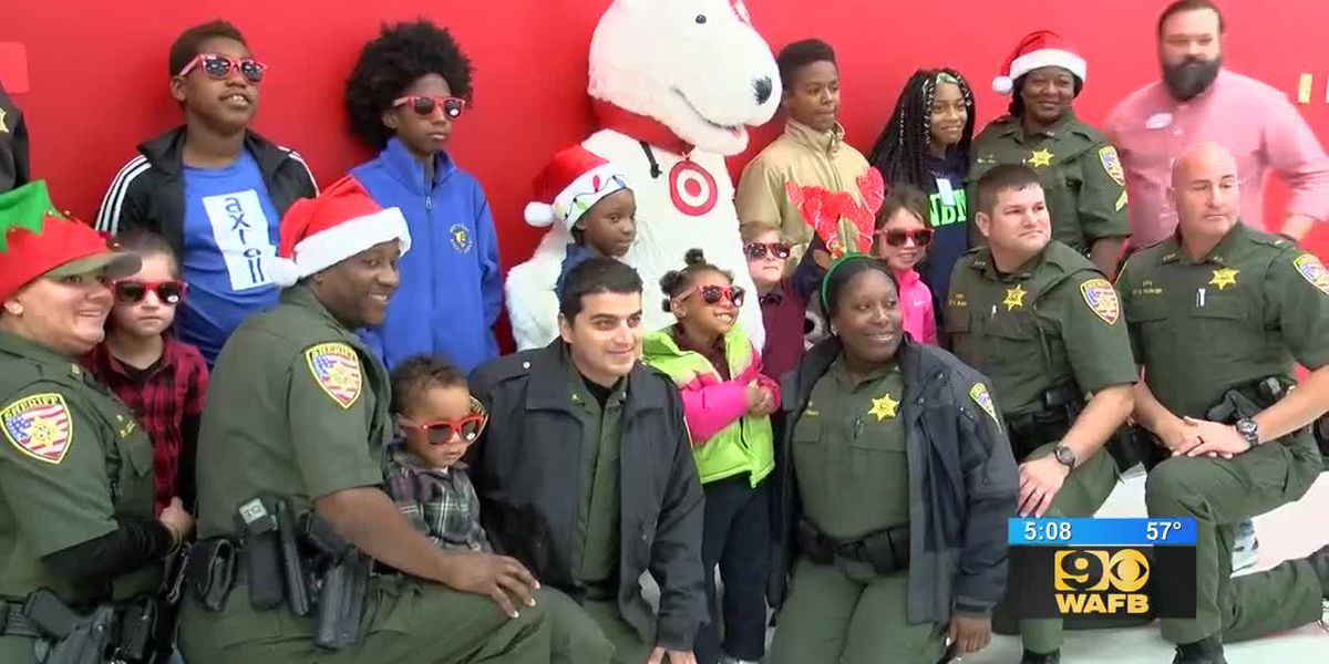 Kids get the chance to shop for Christmas presents with law enforcement