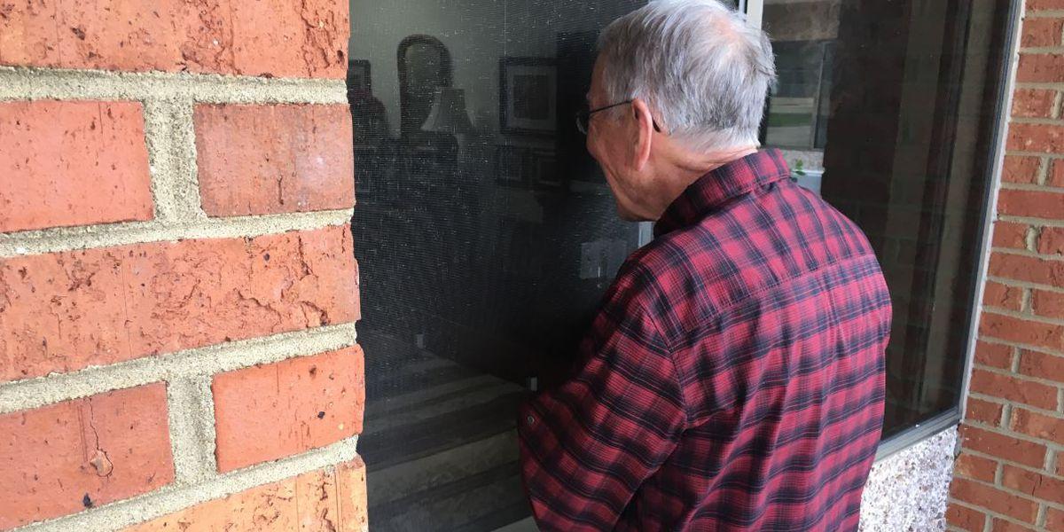 Love conquers coronavirus: Husband visits wife daily through nursing home window