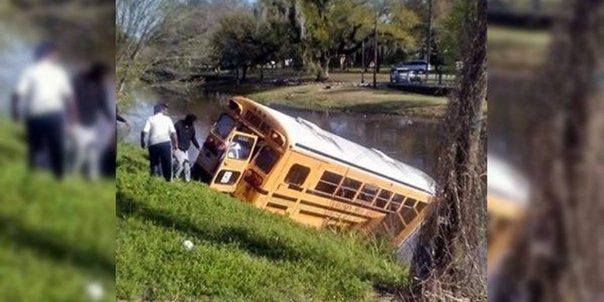 5 transported to hospital from Gonzales school bus crash