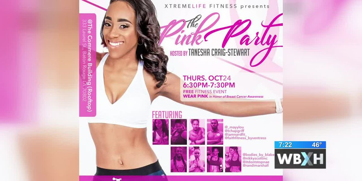 Pink Party free fitness event