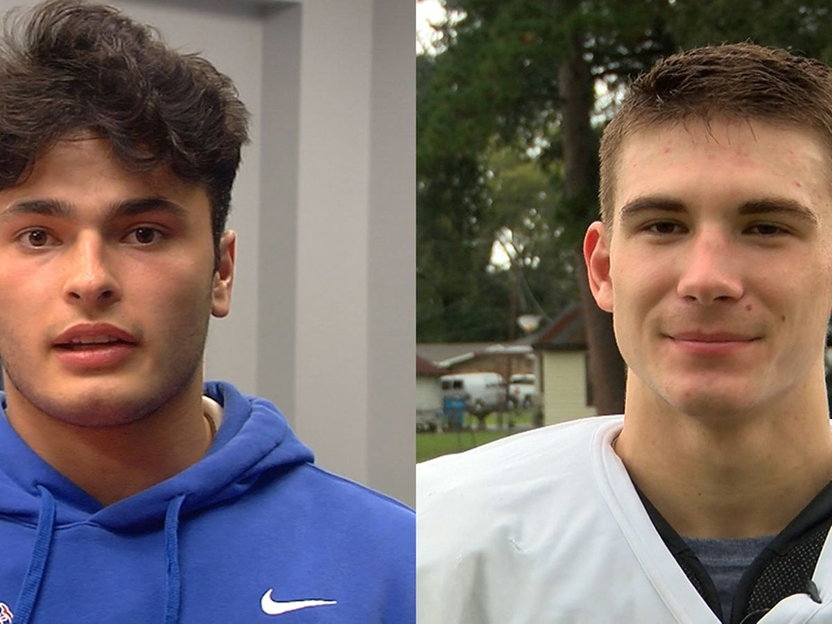 SPORTSLINE PLAYERS OF THE WEEK: Parkview QB Roman Mula and Catholic Pointe Coupee A Matthew Langlois