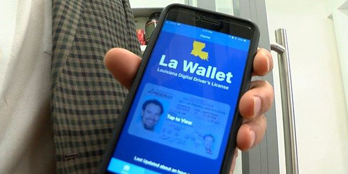 New app launches so you can keep your driver's license on your phone