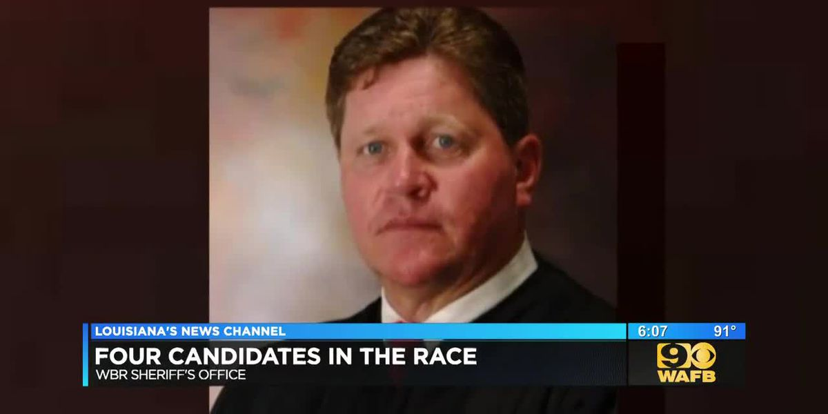 Four-man race for sheriff in West Baton Rouge Parish includes former state district judge
