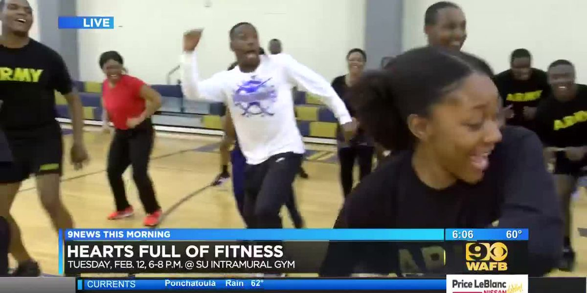 Southern University to host heart health fitness event - 6 a.m.