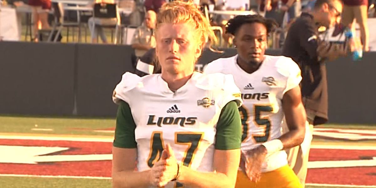 Southeastern player will donate his hair at the end of the football season