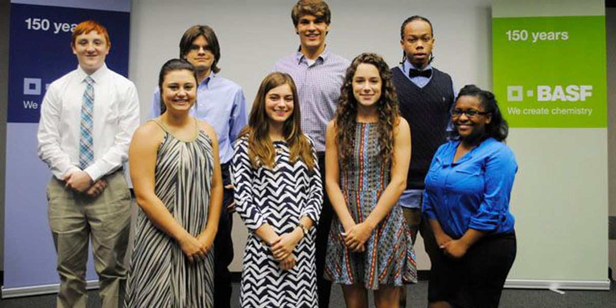 BASF awards $6,000 in scholarships to high school students
