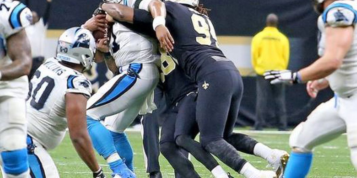 Saints take on Panthers in rivalry game