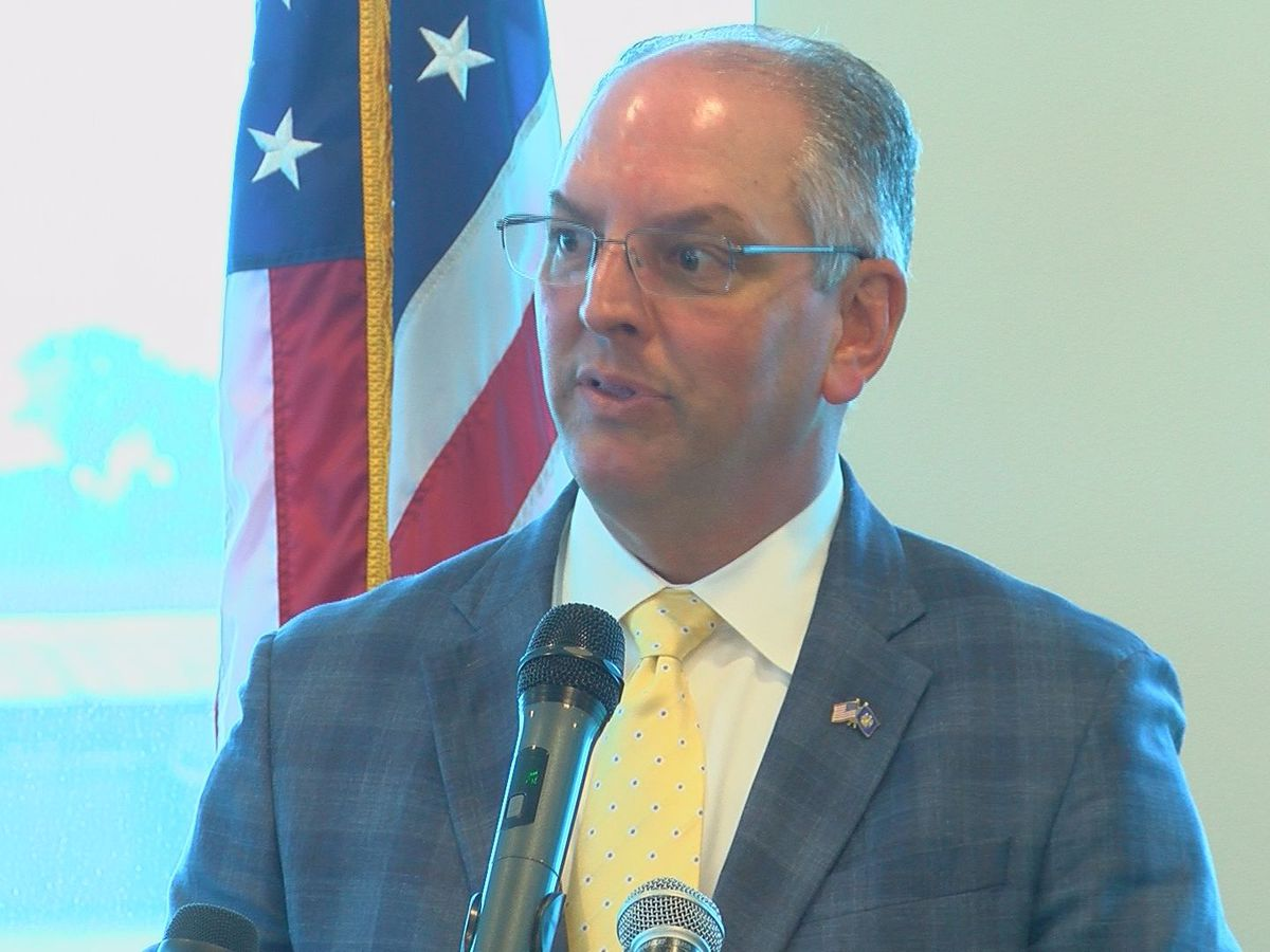 Edwards completes bill decisions from Louisiana session