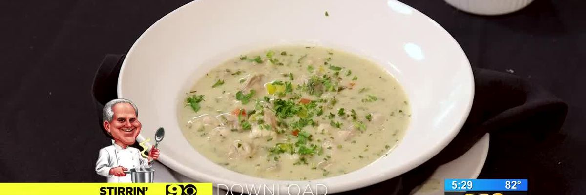 Stirrin' It Up: Oyster and Artichoke Bisque - Sept. 13, 2018