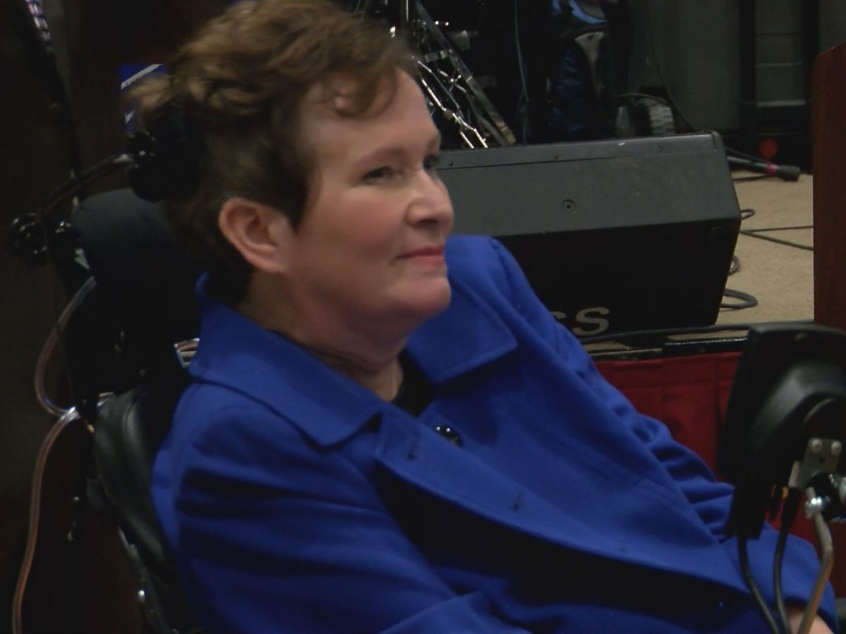 WAFB's Donna Britt honored at ALS awareness event