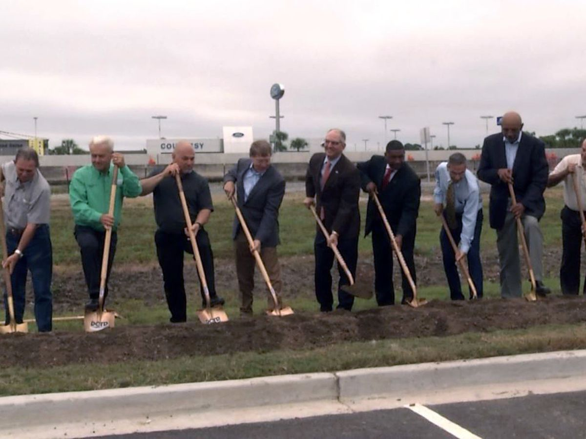 Groundbreaking ceremony held for third phase of I-10 widening project in St. Martin Parish