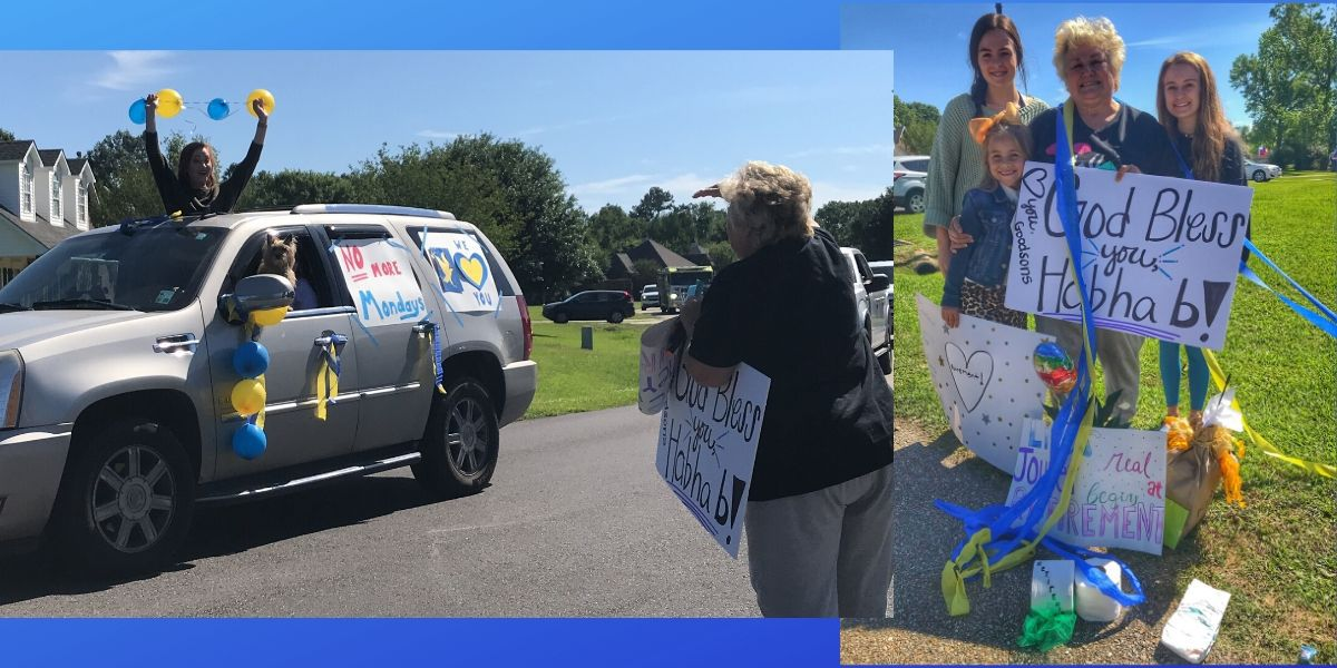 Teacher of 40 years surprised with car parade to celebrate her retirement