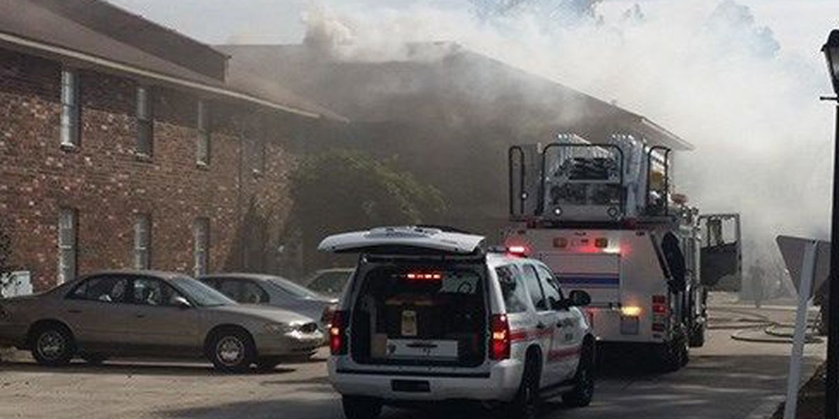 Officials: Faulty bathroom heater sparks two alarm apartment fire