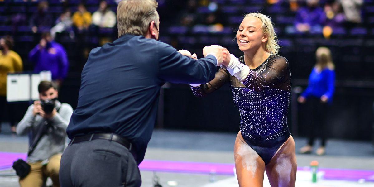 LSU gymnastics advances to final in Salt Lake City Regional
