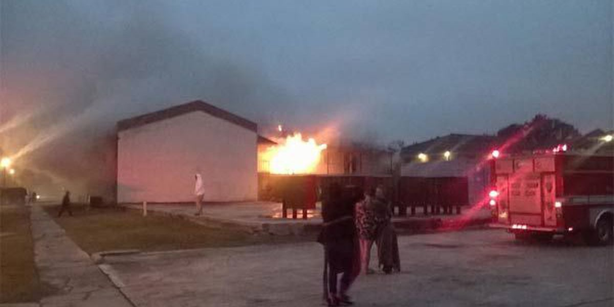 Apartment fire destroys one unit and damages 13 others