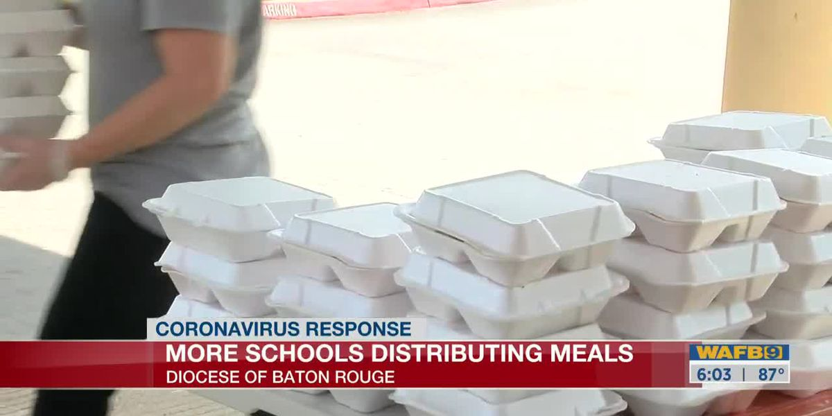 More schools in Catholic Diocese of Baton Rouge now serving meals for kids