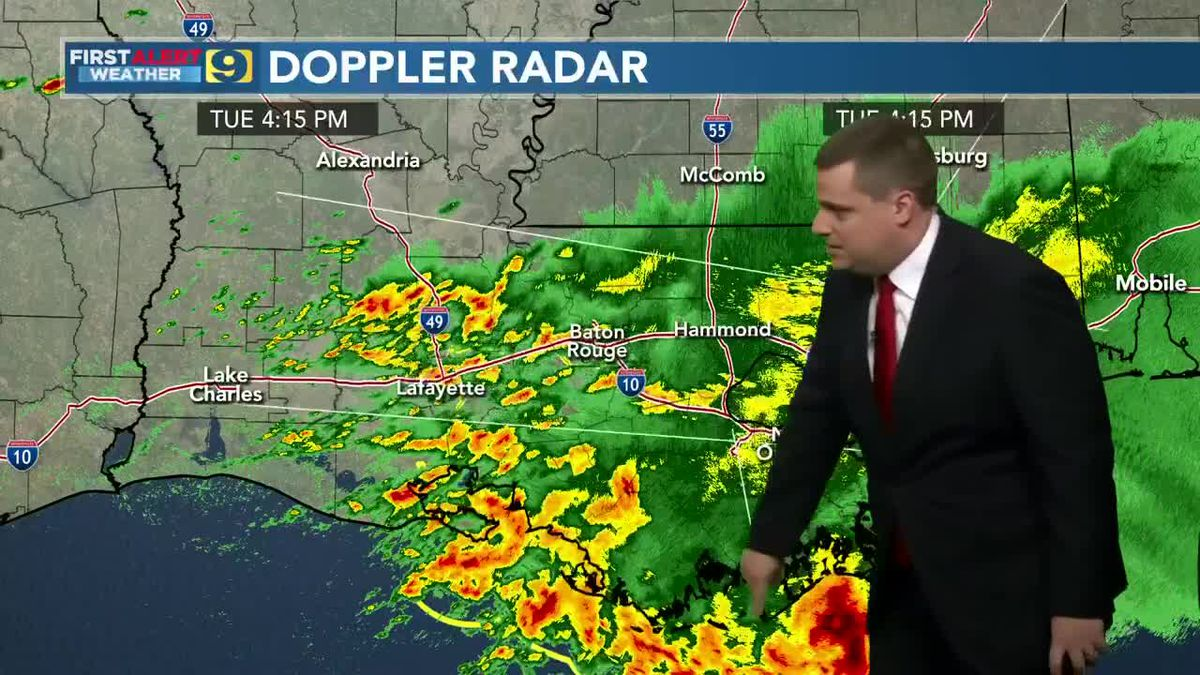 FIRST ALERT FORECAST: Tuesday, April 13 - 4 p.m.
