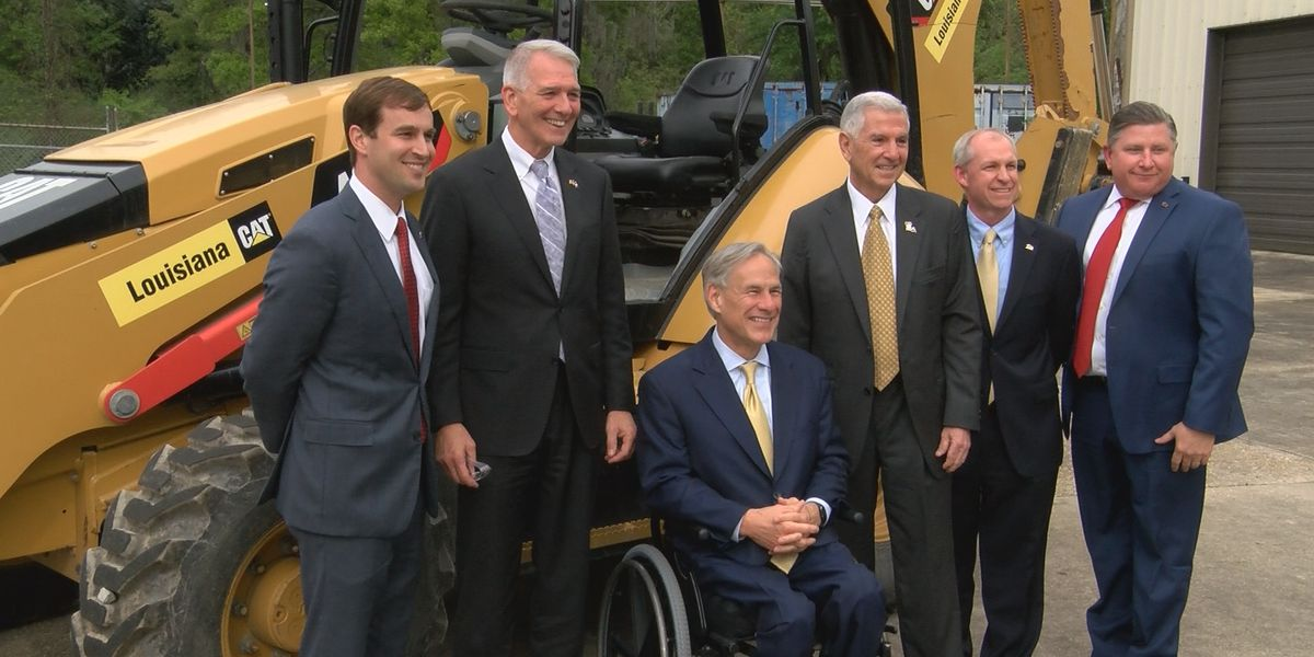 Tx. governor visits with La. contractor group to discuss business opportunities