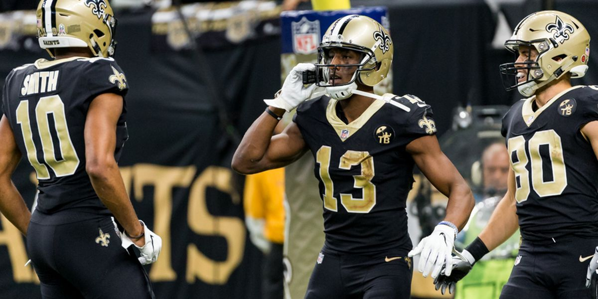 Michael Thomas breaks Joe Horn's team record for receiving yards in a season