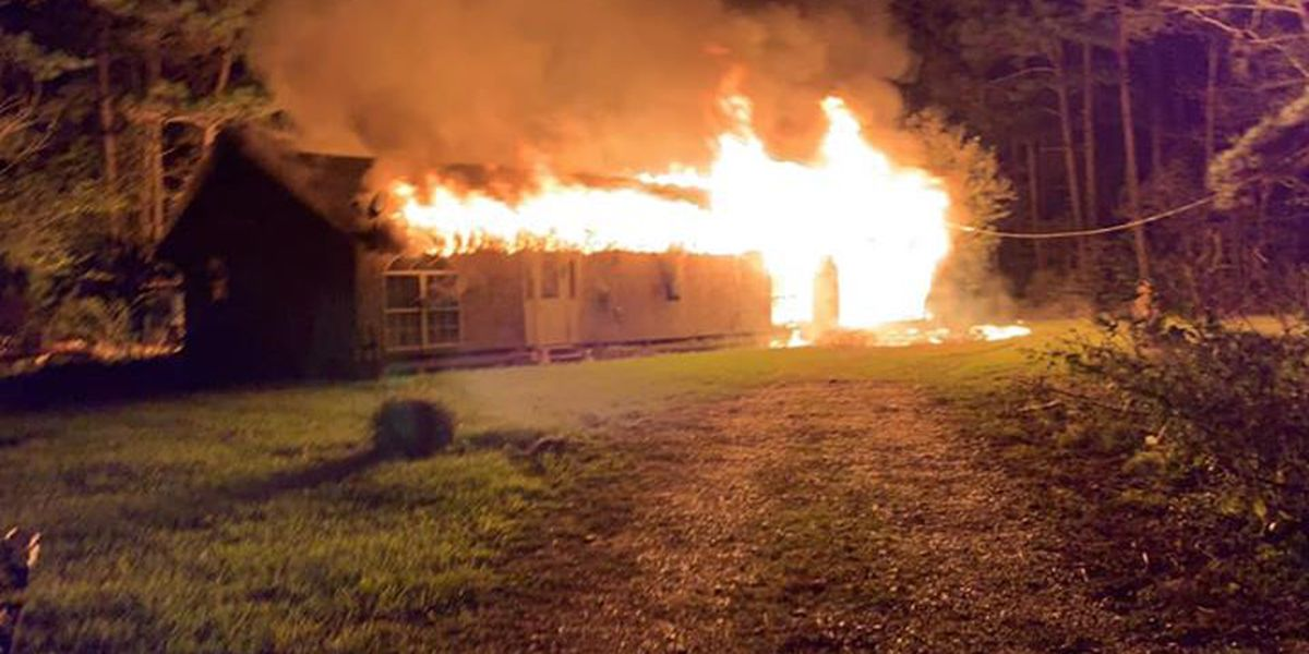 Livingston fire battle overnight fire during freezing temperatures