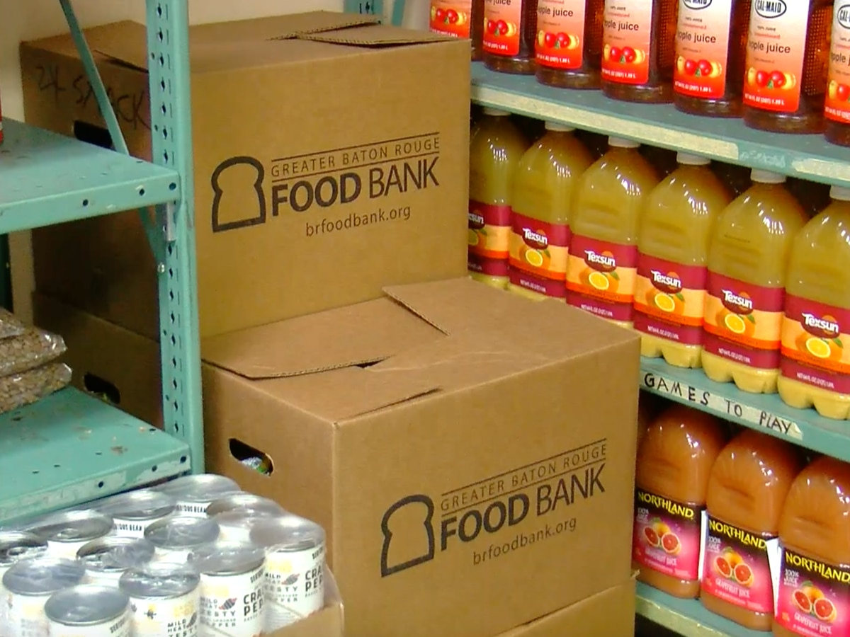 Greater Baton Rouge Food Bank needs your help to keep up with demand