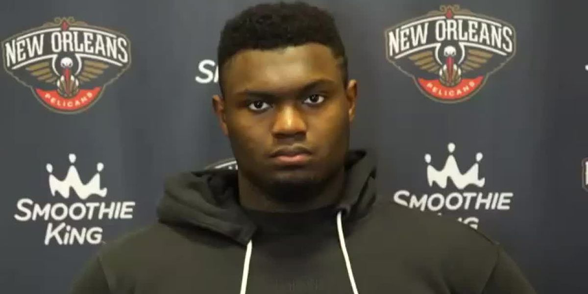 Pelicans' star Zion Williamson out indefinitely with finger fracture, team announces