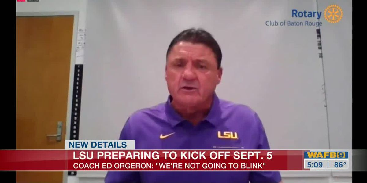 Coach O says team taking COVID-19 threat seriously but preparing for Sept. 5 kickoff